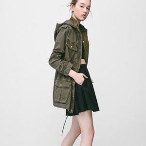 Talula Trooper Military Olive Green Jacket S